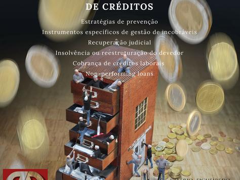 """Formação """"Gestão e Recuperação de Créditos"""""""