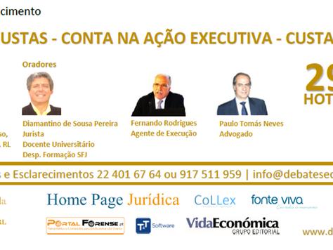 Sesão de Esclarecimento - CONTA DE CUSTAS - CONTA NA AÇÃO EXECUTIVA - CUSTAS DE PARTE