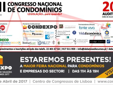 III Congresso Nacional de Condomínios - 20 Maio - Lisboa