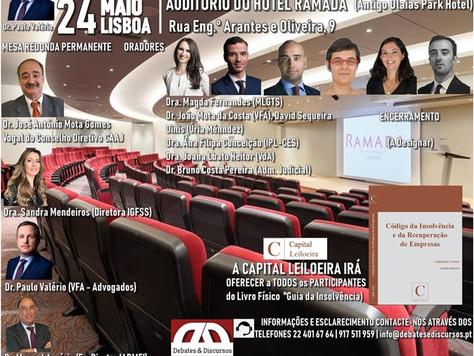 II CONGRESSO NACIONAL DA INSOLVÊNCIA E RECUPERAÇÃO DE EMPRESAS 24 MAIO - LISBOA