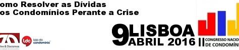 II Congresso Nacional de Condomínios - 9 Abril | Lisboa