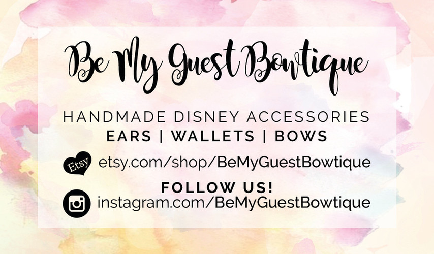 BE MY GUEST BOWTIQUE CARD