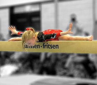 Gymnast Nienke