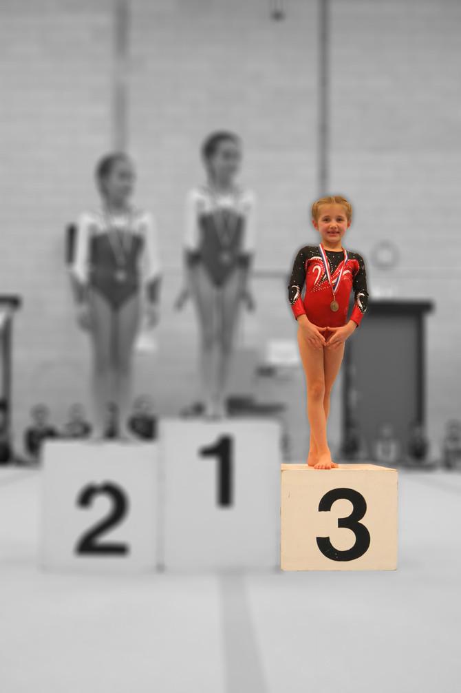 Voorwedstrijd 1 - Pre-instap D1 - Sophia brons!