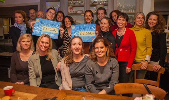 V&K krijgt donatie van Rotary!