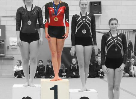 Voorwedstrijd 2 - Suzanne goud!