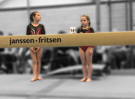 Voorwedstrijd 1 - Pupil 1 - Mathilde, Annabelle