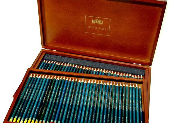 Derwent ARTIST Wood Box 72 Pencils