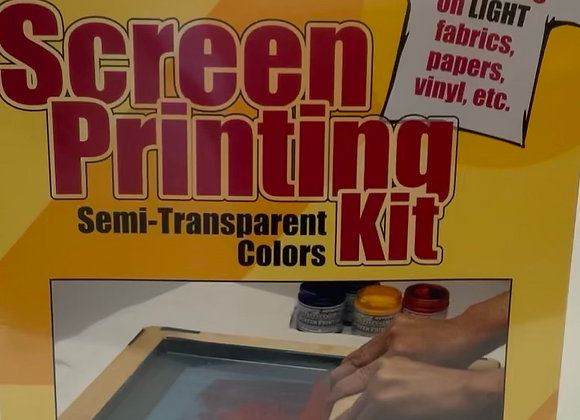 Screen print kit