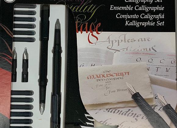 Calligraphy starter set, manuscript