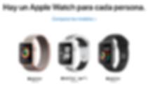 Comparar Apple Watch