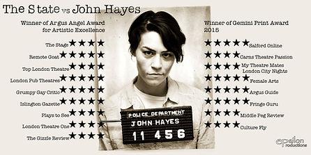 State vs John Hayes Poster