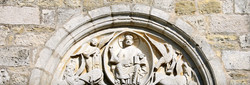 Montseugny, tympan de la commanderie