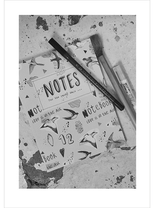 """NOTE BOOK """"FOR THE RAINY DAYS"""""""