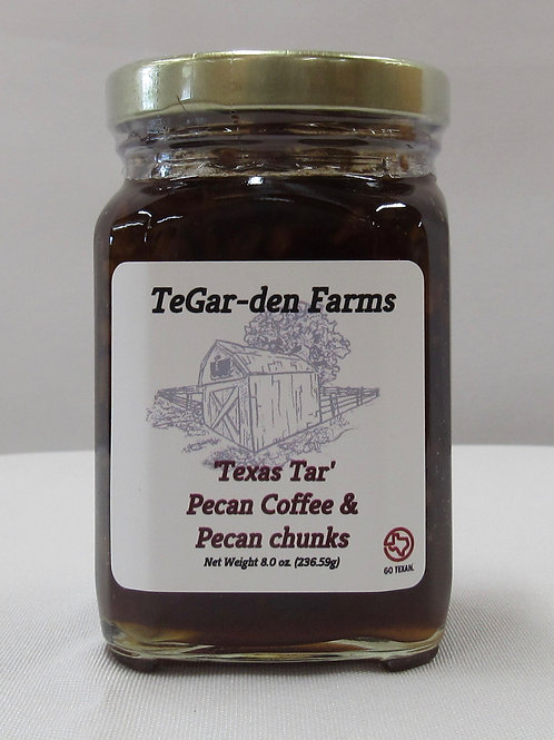 Texas Tar Pecan Coffee w/Pecan Chunks Jelly