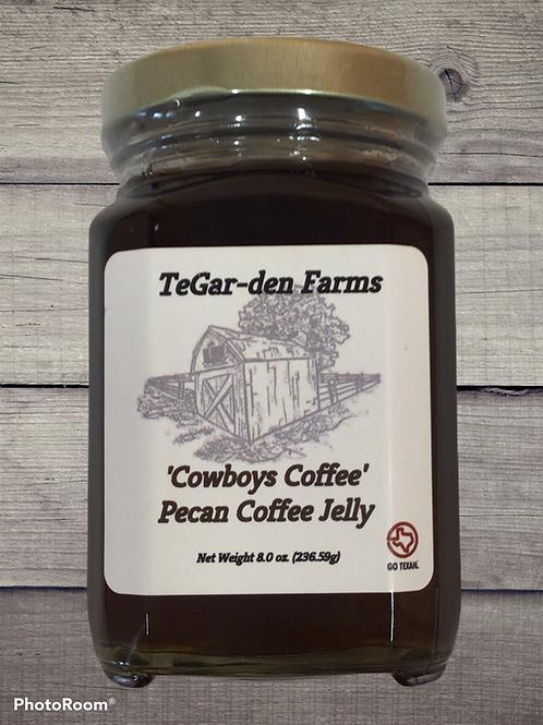 Cowboys Pecan Coffee Jelly
