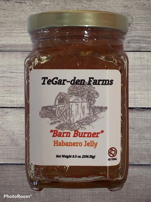 'Barn Burner' Habanero Jelly