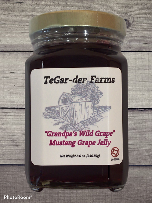 Grandpa's Wild Grape Jelly