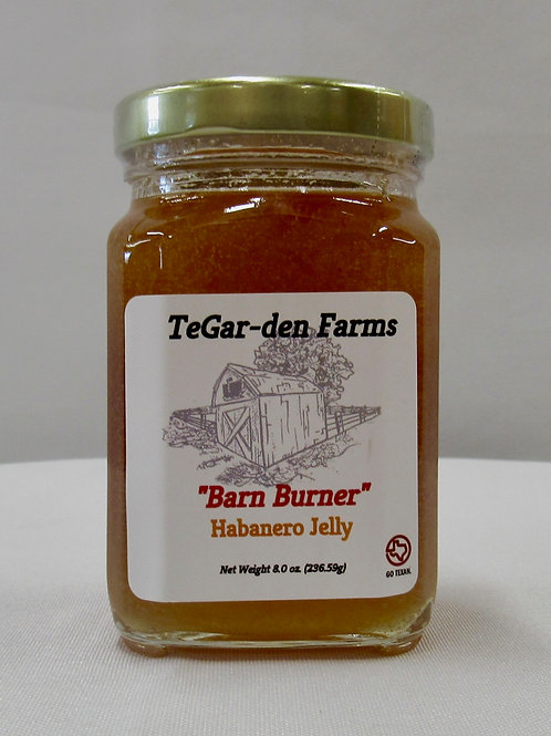'Barn Burner' Habanero Jelly