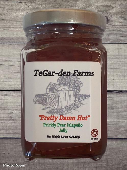 'Pretty Damn Hot' Prickly Pear Jalapeño Jelly