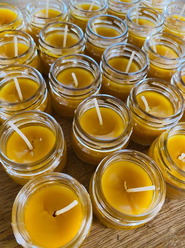 Produktion Kerzen
