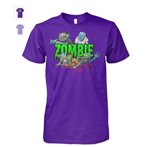 Purple Zombie T-Shirt   Mens & Womens