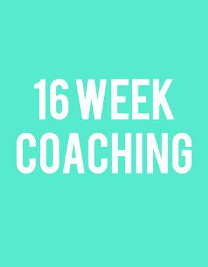 4 Month Coaching Package