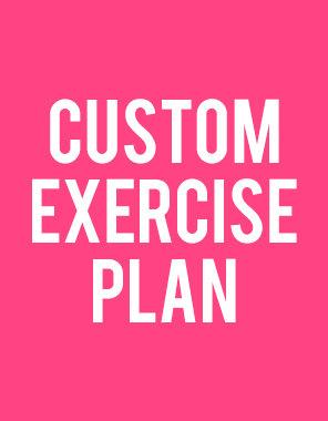 Customized Exercise Plan