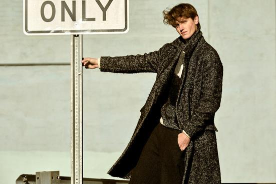 Coat - Theory Pants - Oak & Fort Sweater - Zara
