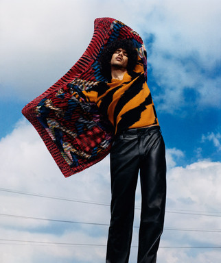 Yassine Rahal is the Face of Missoni Fall Winter 2018.19 Collection