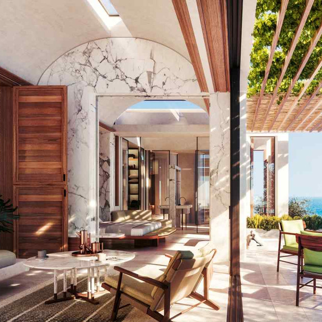 One&Only's Kea Island resort in the Cyclades