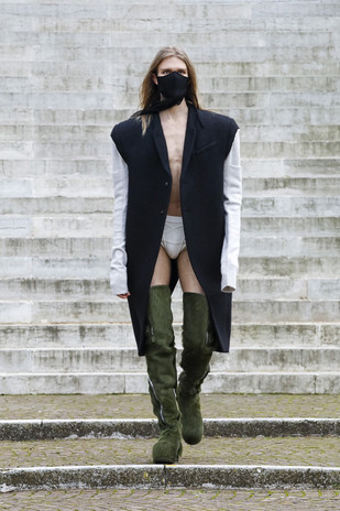PFW: Rick Owens Autumn/Winter 2021 Collection
