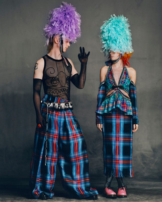 Charles Jeffrey LOVERBOY Autumn/Winter 2021 Collection
