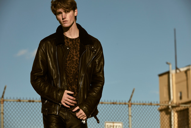 Jacket - All Saints Leather Pants - Joseph Sweater - H&M