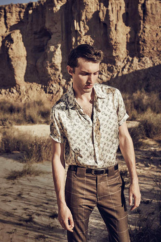 Damian Foxe packs separates with 1960s-style panache. Photography by Diego Merino = How To Spend It