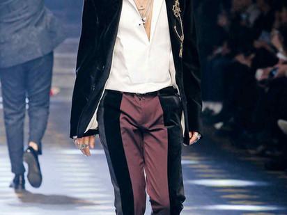 Menswear stages a velvet revolution