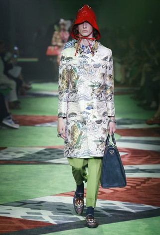 Our Three favourite looks from  Gucci S/S '17 men