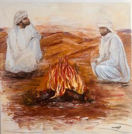 Contando anécdotas en el Desierto de Jordania