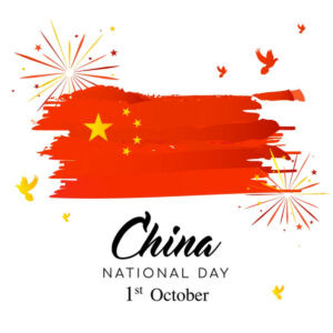 China National Day Holiday in October 2021