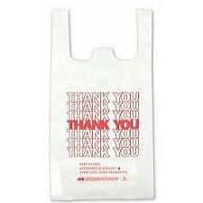 Grocery Poly Bag, Supermarket Plastic Bag
