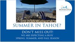 2021 Summer Booking