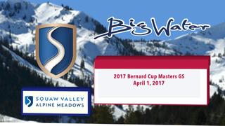 2017 Bernard Cup Masters