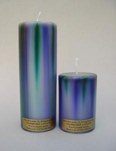 Purple/Green Pillar
