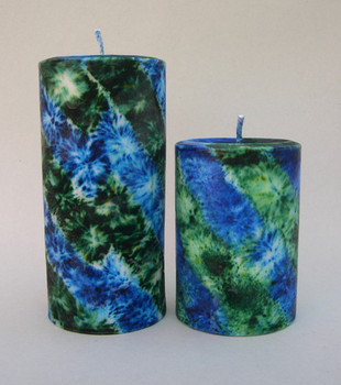 Blue/Green Fireworks, scented