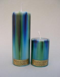 Blue/Green Pillar