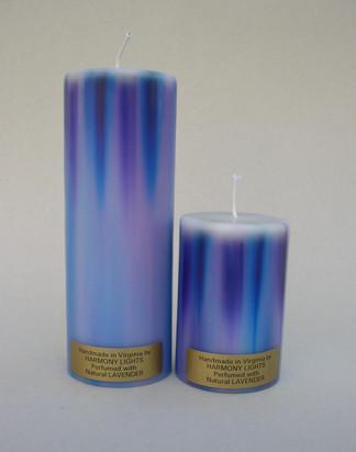 Blue/Purple Pillar