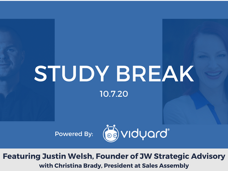 Sales Assembly Study Break Featuring Justin Welsh, Founder of JW Strategic Advisory (Video)
