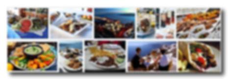 santorini restaurants, wine and food