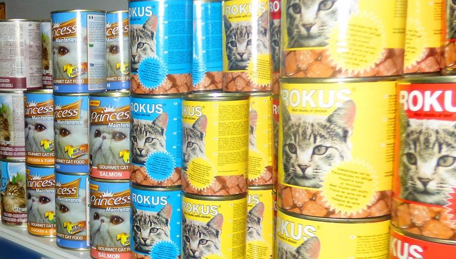 τροφές γάτας Σαντορίνη-Κυκλάδες
