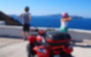Quad Bike for Tours in Santorini
